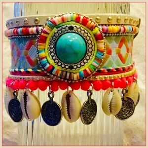 NEW Statement Bracelet Anklet Boho Tribal Jewelry
